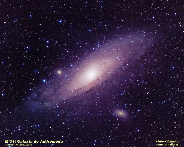 M31: Andromeda Galaxy