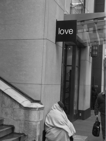 Richard Nagler, Love, New York City, December 2005