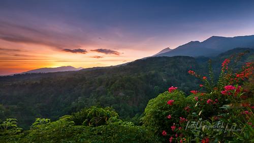 Senaru Lombok Indonesia @ Sunrise