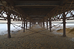 Peering under the Pier (Joe Hesketh) Tags: hdr tamron1750mm28 nikond7000