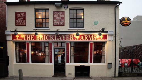 Bricklayer's Arms, Putney.