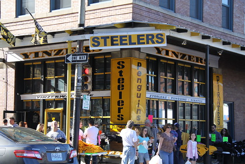Pittsburgh eateries in the strip