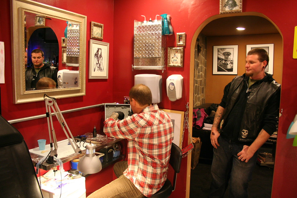 The world 39 s best photos of repair and tattoo flickr hive for Berkeley tattoo shops