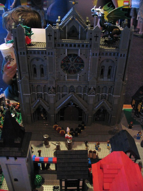 Gothic church at Brickvention 2009