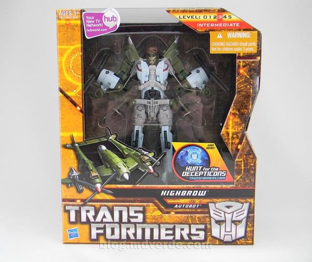 Transformers Highbrow HftD Voyager - caja