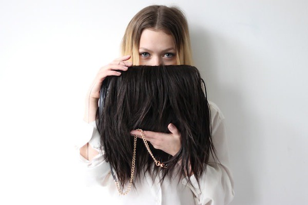 love aesthetics hair purse diy
