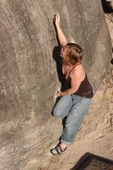 Fontainebleau (sgl0jd) Tags: elephant rachel bouldering fontainebleau