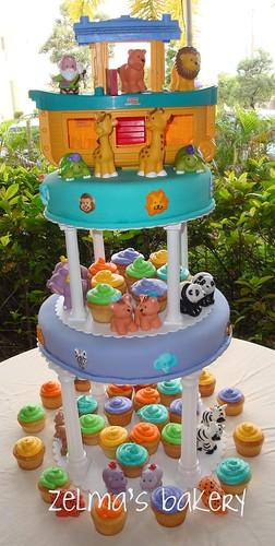 Noah's Ark Cake - view 1