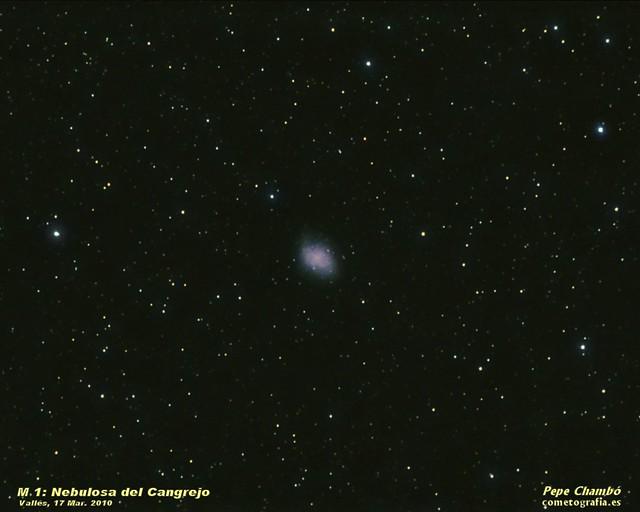 M 1: Crabb Nebula