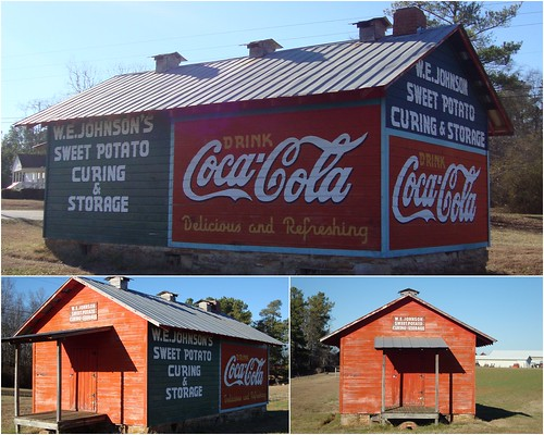 W.E. Johnson Sweet Potato Curing & Storage, S of Carrollton GA