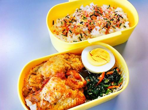 今日のお弁当 No.92 – 鮭