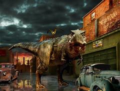 They're Back (RodneyPike) Tags: animal illustration photomanipulation photoshop surreal pike rodney theyreback rwpike