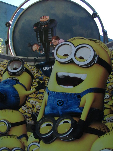 Despicable Me at Universal Studios