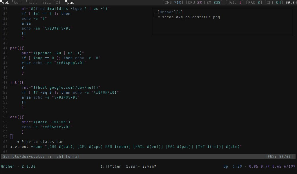 The World's most recently posted photos of archlinux and tmux