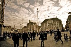 Dam, Amsterdam (beta karel) Tags: city landscape flickr 2011 canoneos40d betakarel