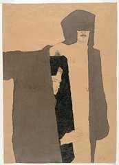 Schiele, Egon (1890-1918) - 1909C. The Couple ( Carnegie Museum of Art, Pittsburgh, Pennsylvania) (RasMarley) Tags: ink drawing schiele painter figure expressionism crayon 20thcentury graphite thecouple austrian 1900s 1909 egonschiele doubleportrait publiccollection