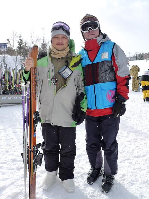 這次的滑雪教練是小傑~