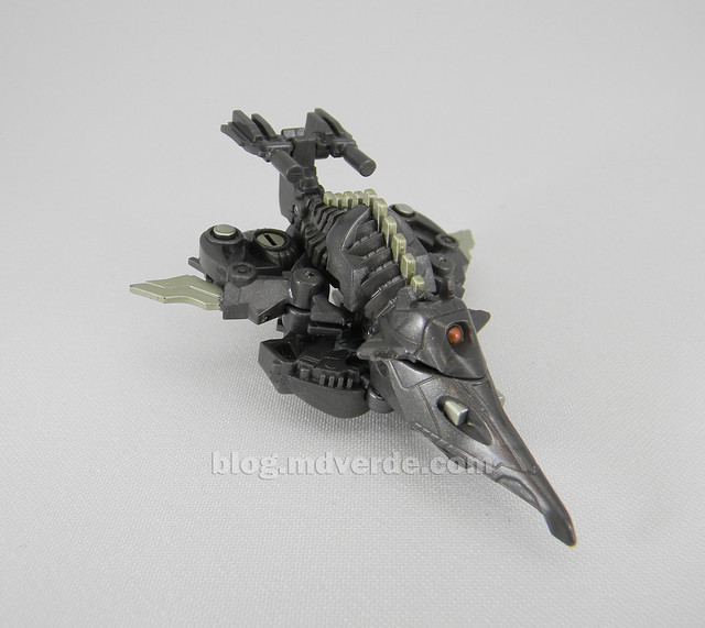 Transformers Ravage HftD Legends - modo alterno