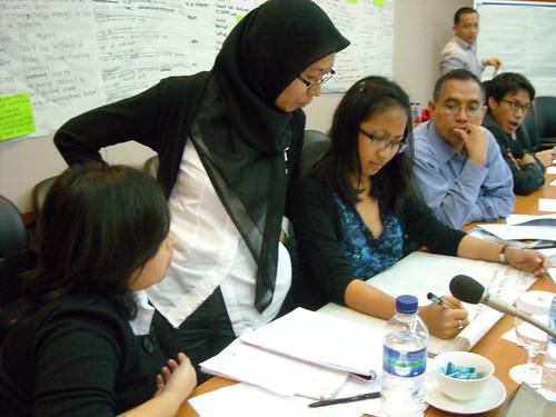 Schreiben fürs Netz-Workshop bei der ASEAN / Jakarta, Frühjahr 2011