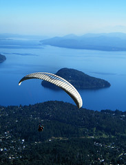 Paragliding over Bariloche, Argentina [Cerro Otto] by katiemetz, on Flickr