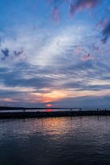 Irondequoit Bay Outlet Sunset (SugarHillsPhoto) Tags: sunset lakeontario irondequoitny irondequoitbayoutlet