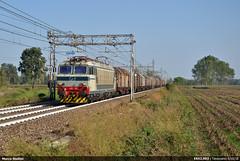 Back home... (Marco Stellini) Tags: e652 003 fs trenitalia mercitalia cargo italia ferrovia coils ravenna melzo tigri
