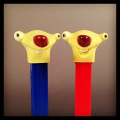 Revised Sid the Sloth (WEBmikey) Tags: toys pez iceage bluesky