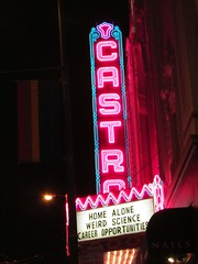 Castro Theatre (electrofreeze) Tags: sign signs neon california sanfrancisco castrotheatre midnitesformaniacs homealone weirdscience careeropportunities johnhughes