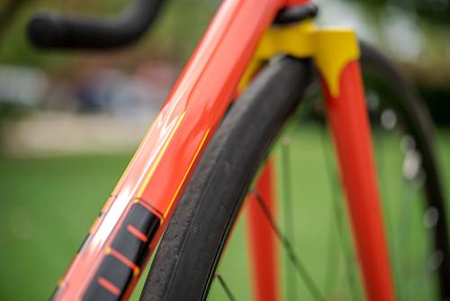 Columbus hexagonal track bike