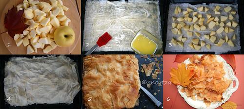 Come preparare la sfoglia alle mele con pasta fillo