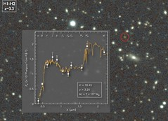 Galaxia masiva detectada