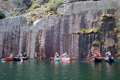 Canoeing in the quarry (bfadventure) Tags: cornwall canoeing falmouth truro quarry penryn outdoorfun activitycentre bfadventure