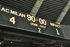 AC Milan - Impact de Montréal (abdallahh) Tags: canada milan football montréal soccer québec impact friendly match ac stade olympique amical imfc
