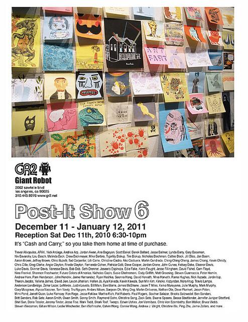Post-It Show 6 by Le Merde