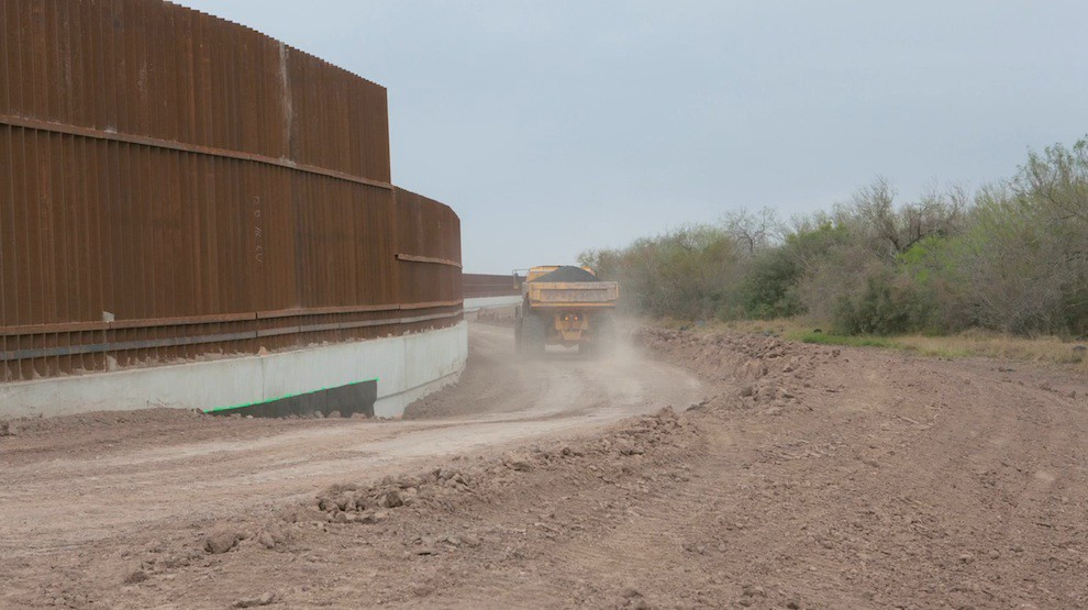 Construction of US-Mexico Wall