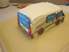 Hiace Cake - Finished!