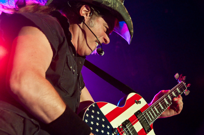 Ted Nugent @ The Catalyst 8-19-2010