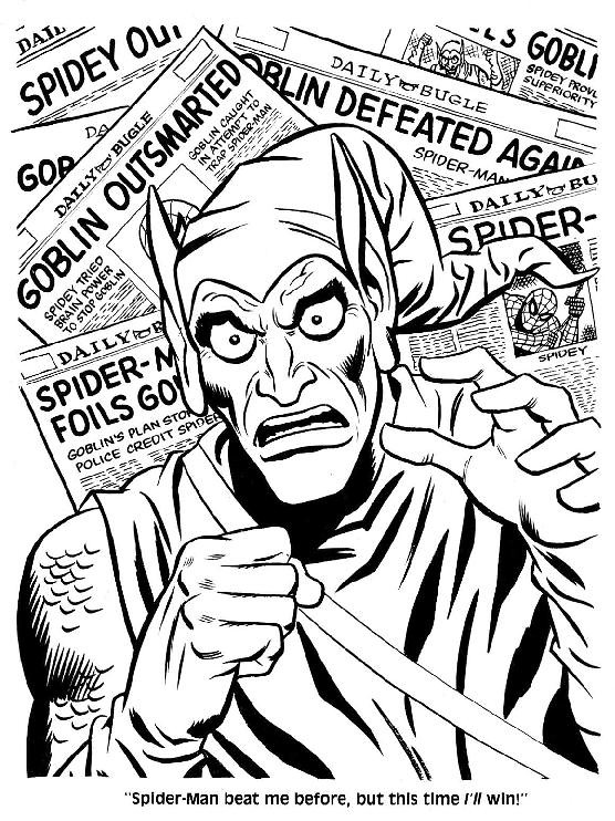 Spider-Man Unmasked! Coloring Book010