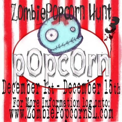 ZombiePopcorn Hunt 3 Press Release