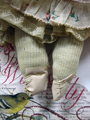 Miss Muffett, Up-Cycled Sock Doll! 6
