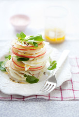 pear, apple and fennel salad (cannelle-vanille) Tags: autumn apple salad pear fennel glutenfree everydayfood donnahayinspired