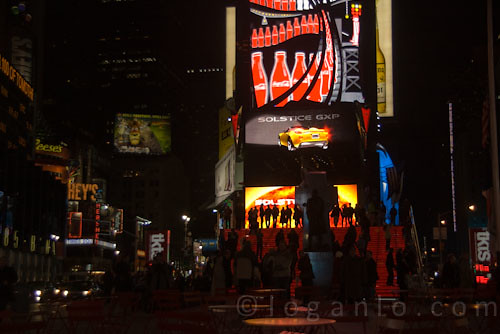 Times Square, NYC on a summer night