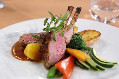 Roasted Rack of Lamb @ LeVilla