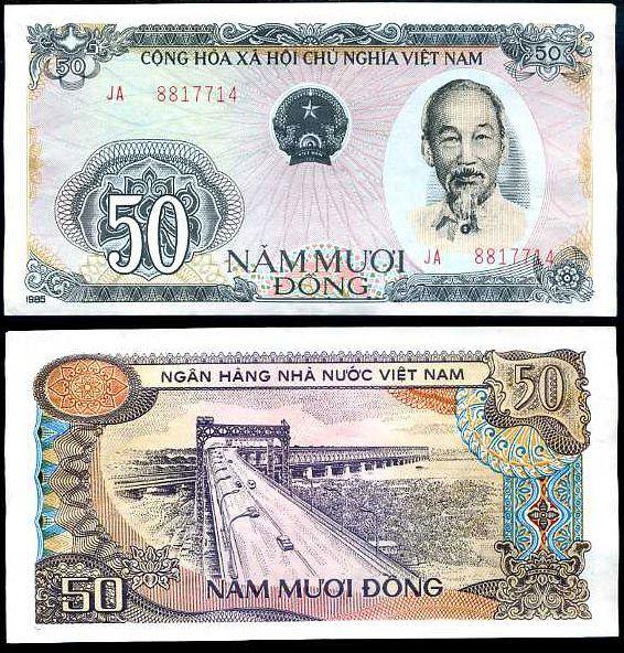 50 Dong Vietnam 1985 (1987), P97