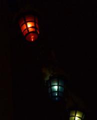 Snowy Lanterns - Copyright R.Weal 2010
