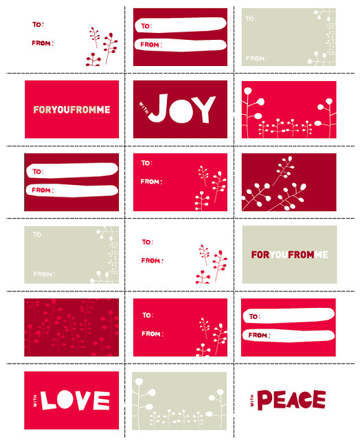 WEST ELM FREE HOLIDAY PRINTABLE