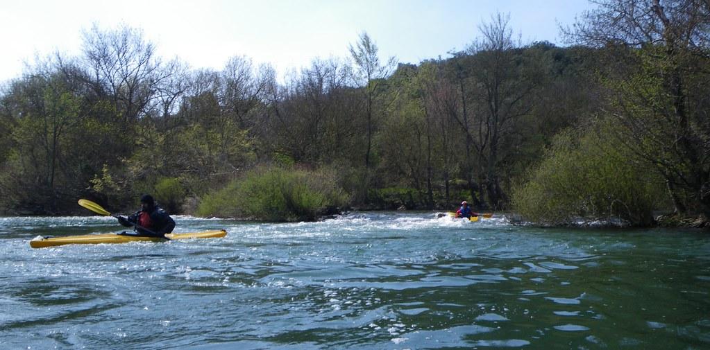 Descenso del Río Arakil en kayak 018
