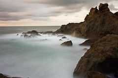 Sea Motion (Rocco V.A.) Tags: longexposure seascape landscape panorami seawaves zaro isoladischia canonef1740f4lusm canoneos450d foriodischia hoyandx400 bestcapturesaoi seamotion tripleniceshot