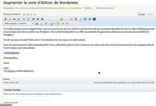 wordpressto après