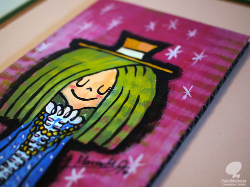 #487 Happy Mary (detail)